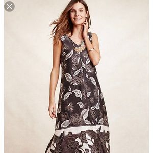 Anthropologie Floreat Maxi Dress